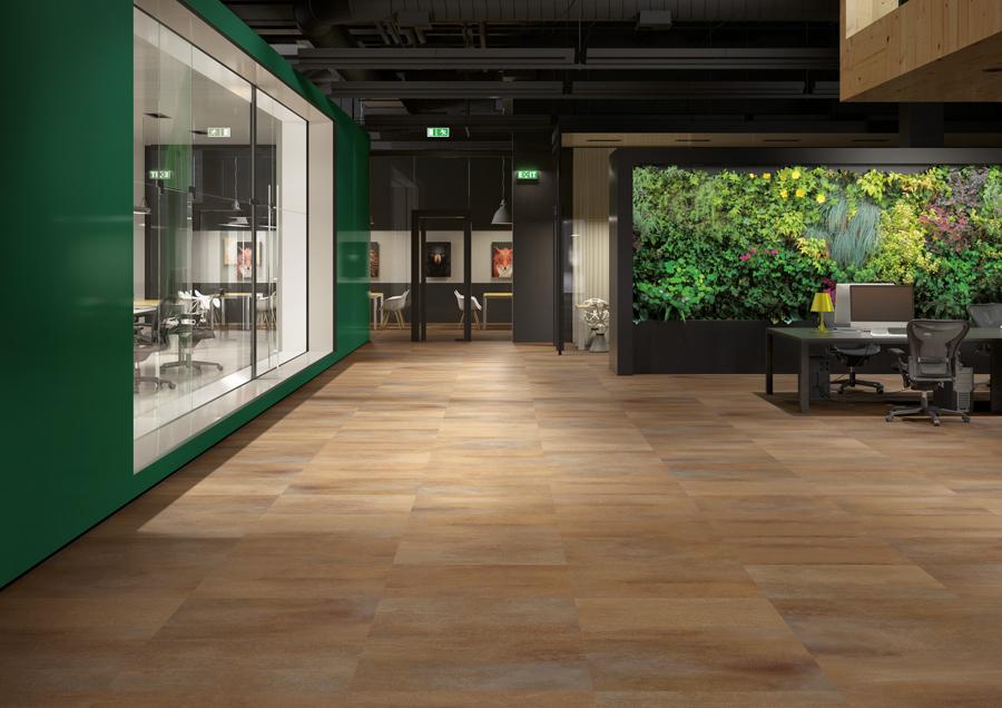 gerflor insight 55 rust corten klebe vinylboden ihr online shop f r bodenbelag. Black Bedroom Furniture Sets. Home Design Ideas